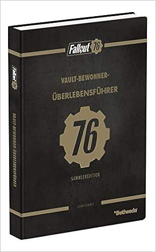 Fallout 76 Karte Deutsch.Fallout 76 Das Offizielle Lösungsbuch Collector S Edition Amazon