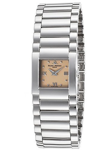 Baume & Mercier Moa06849-Sd Women's Catwalk Stainless Steel Beige Dial Watch