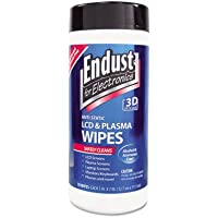Endust Anit-Static Cleaning Wipes, LCD/Plasma, 70 Wipes, BE