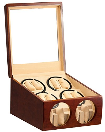 8-4-burl-wood-automatic-dual-quad-watch-winder-display-storage-box