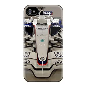 Durable Cases For The Iphone 4/4s- Eco-friendly Retail Packaging(bmw Sauber F1 Front)