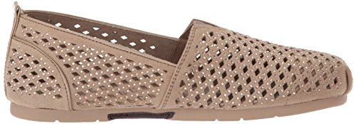 Bobs From Skechers Womens Luxe Bobs-dazzlin Ballet Flat Taupe