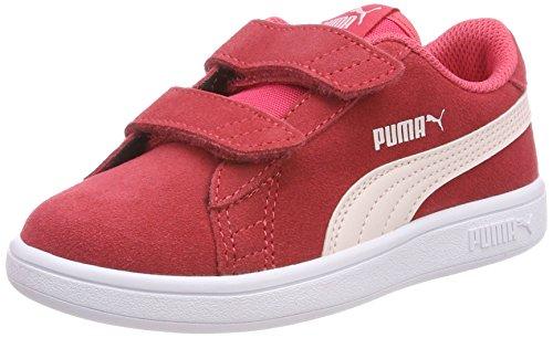 Puma Smash V2 SD V PS, Zapatillas Unisex Niños Rosa (Paradise Pink-pearl)