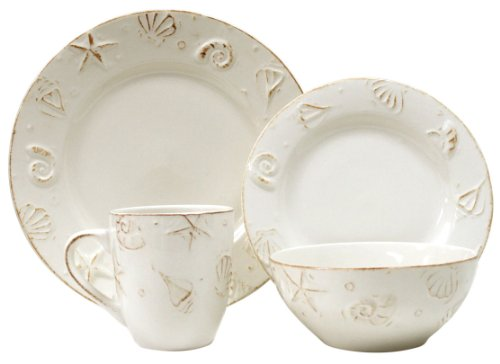 Hampton 16 PC DINNERWARE SET Service for 4 - Dinnerware Set