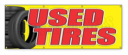 3-ft-x-8-ft-used-tires-banner-sign-tires-sale-sell-wheel-signs-save-discount-tire