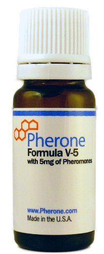 Pherone Formula V-5 Pheromone Cologne for Men to Attract Women, with Pure Human Pheromones