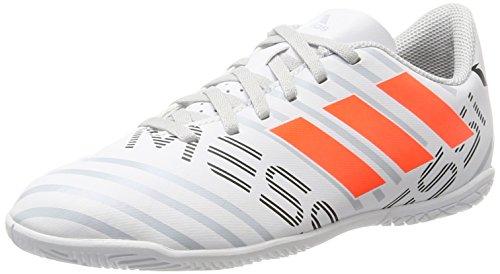 adidas Jungen Nemeziz Messi 17.4 in J Fußballschuhe Mehrfarbig (Ftwr White/solar Orange/clear Grey )