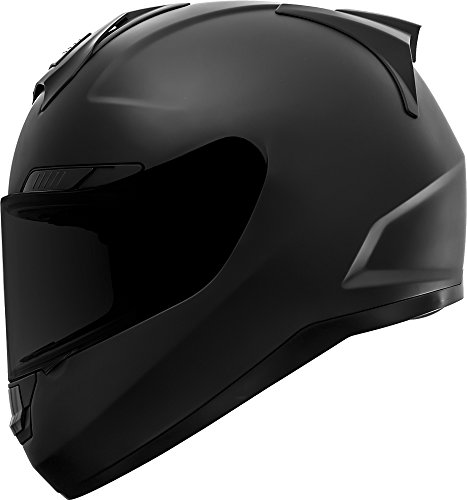 GDM Duke Helmets DK-346 Full Face Motorcycle Helmet (Matte Black, -
