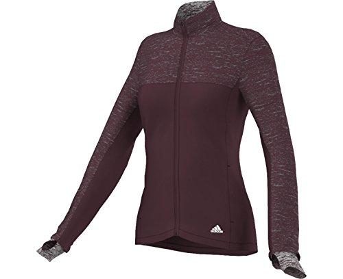 Jacket Supernova adidas Running Women's Maroon Storm IBwYaqf