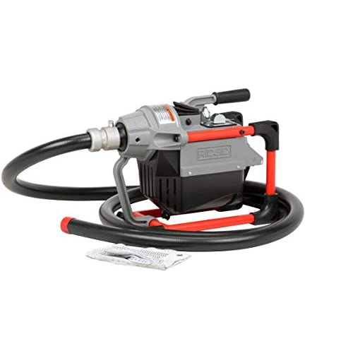 Image of Home Improvements RIDGID 66492 K-60SP Sectional Machine, Compact Sectional Drain Cleaning Machine with Easy Snake Cable Changes, Drain Cleaner Machine (Sectional Cable Sold Separately)