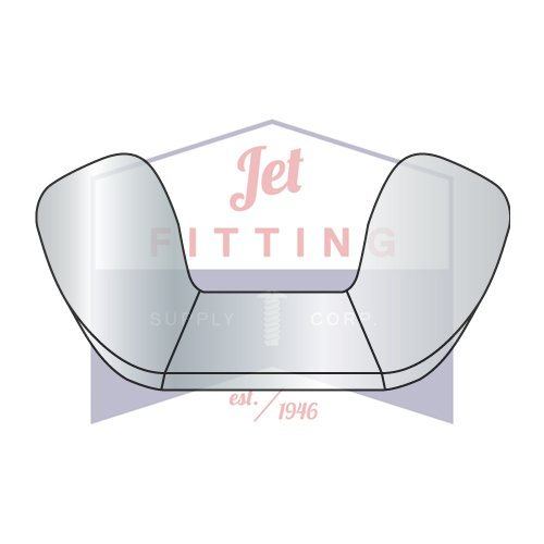 8-32 Cold Forged Wing Nuts//Steel//Zinc Quantity: 2,000 pcs