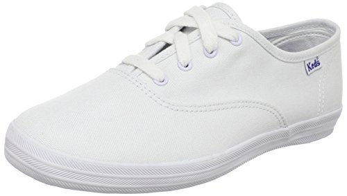 Keds girls Original Champion CVO Sneaker ,White Canvas,1 M US Little Kid