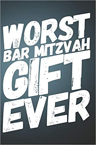 Worst Bar Mitzvah Gift Ever: 110-Page Blank Lined Journal Bar Mitzvah Gag Gift Idea: Bluerock Media Books: 9781795710435: Amazon.com: Books