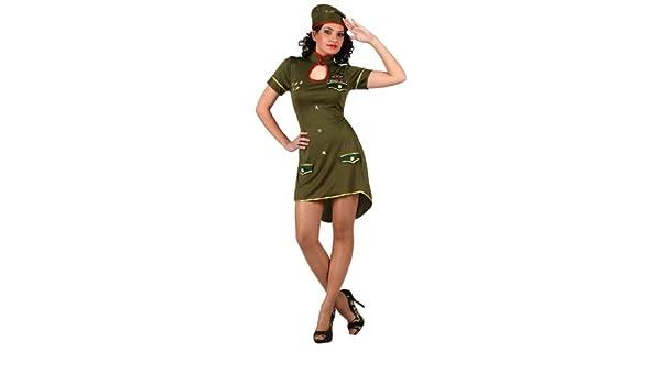 Atosa - Disfraz de soldado para mujer, talla M/L (10311): Amazon ...
