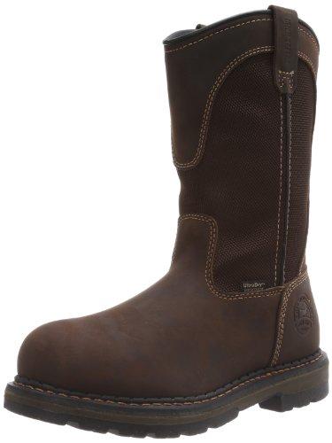 (Irish Setter Men's 83901 Wellington Work Boot,Brown,10.5 D US)