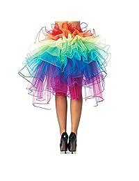 Imixshop Women's 3 Layers Ballet Dress-Up Fairy Tutu Skirt
