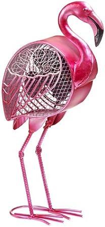 Deco Breeze Pink Flamingo Figurine Fan