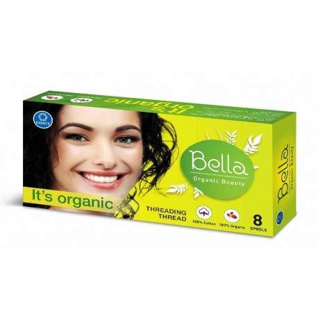 Bella Organic Cotton Eyebrow Threading Thread (8 Spools)