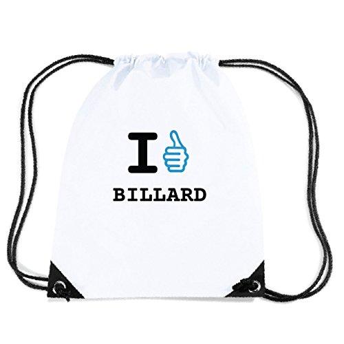 JOllify BILLARD Turnbeutel Tasche GYM6221 Design: I like - Ich mag