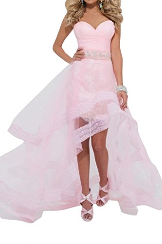 Cocktail Dresses Homecoming Lo Pink Evening Tulle Hi Party Angel Dresses Bride 8zxq77