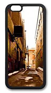 Alley Art Custom For Iphone 6Plus 5.5Inch Case Cover Hard shell Black