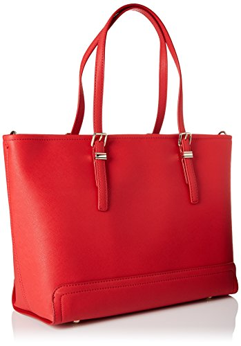 Tommy Rouge Honey Cabas Hilfiger Tote Red Tommy Med RrwRXq