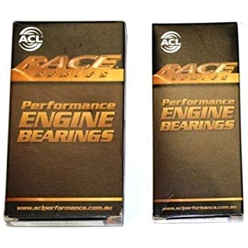 King STD Size pMAX Black Main Rod Thrust Bearings Set Acura Integra GSR B18C1