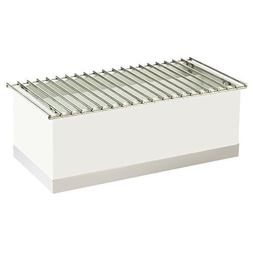 Cal Mil Chafer Alternative Rectangular White/Silver