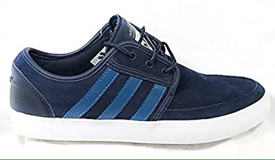 Adidas uomini originali seeley scarpe da barca colore collegiale marina / vista