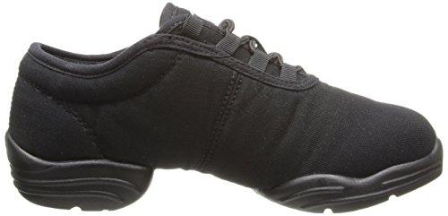 Capezio Lærred Dans Sneaker Sort 3ERO3WF