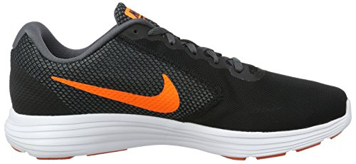 Nike 819300-003, Zapatillas de Trail Running para Hombre Negro (Black / Total Orange-Dark Grey-Turf Orange)