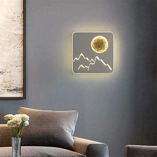 Wall Sconce Lights Modern wall lamp planet bedside lamp bedroom simple personality creative