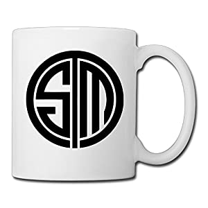 Christina Team Solomid TSM Team Logo Ceramic Coffee Mug Tea Cup White