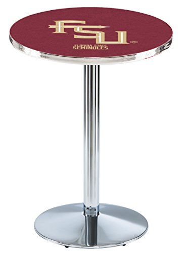 Holland Bar Stool L214C Florida State Script Officially Licensed Pub Table, 28