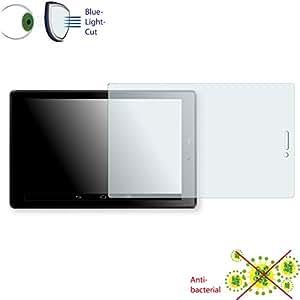 Película de protección de pantalla DISAGU ClearScreen para Odys Pro Q8 antibacterial, filtro BlueLightCut película de protección