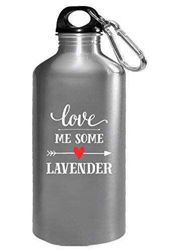 Love Me Some Lavender Cool Gift - Water Bottle