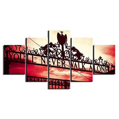 10 best liverpool fc wall painting