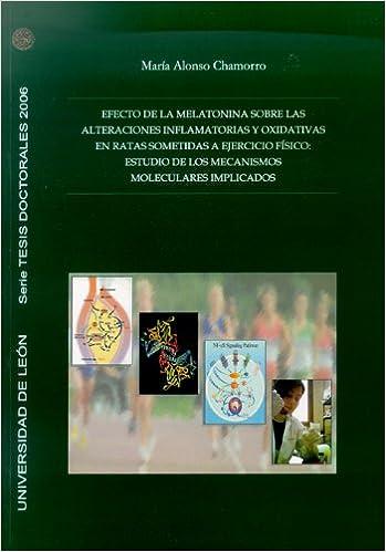 EFECTO DE LA MELATONINA SOBRE LAS ALTER: 9788497732451: Amazon.com: Books
