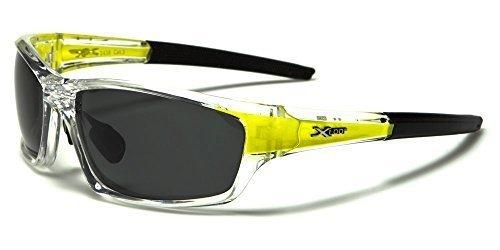 X-Loop - Lunette sportive polarisée Unisexe Femme Homme Lunette de soleil  sportive plastique avec 28882b107cf1