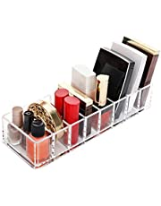 Makeup Compact Powder Holder Blush Eyeshadow Lipstick Organizer, Eyeshadow Palette Organizer, Makeup Holder, Eyeshadow Display Case Box Great for Lipstick Nail Polish