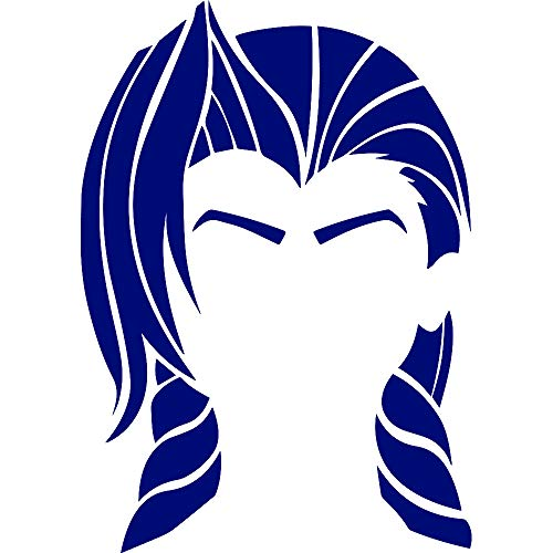 ANGDEST League Jinx (Navy Blue) (Set of 2) Premium Waterproof Vinyl Decal Stickers for Laptop Phone Accessory Helmet Car Window Bumper Mug Tuber Cup Door Wall Decoration