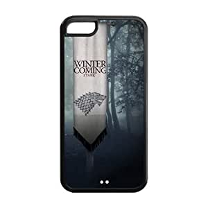 Custom Game of Thrones Back Cover Case for iphone 5/5s iphone 5/5s (Laser Technology) GPB-610