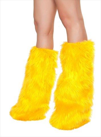 Fur Leg Warmer Costume Accessory -