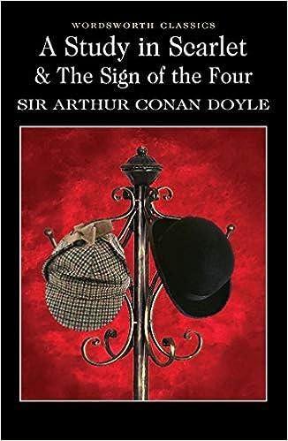 A Study In Scarlet Wordsworth Classics Sir Arthur Conan Doyle 8601200710748 Amazon Com Books