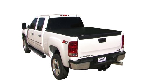 Tonneau Fold Truck Cover (Tonno Pro HF-452 Black Hard Fold Truck Bed Tonneau Cover 2005-2018 Nissan Frontier | Fits 5' Bed)