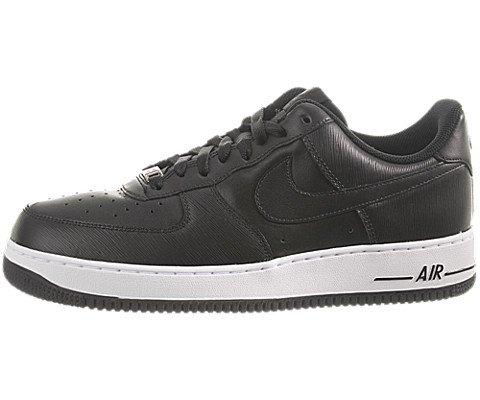 Nike Mens Air Force 1 '07 [315122-036] Black/Black-White Mens Shoes 315122-036-10.5 ()