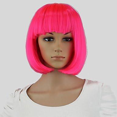 Ryu @ Rosa Mujeres Tinte para Cabello Corto a casco pelucas ...