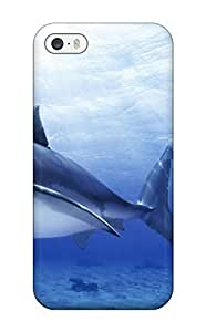 High-end Case Cover Protector For Iphone 5/5s(funny Shark Picture)