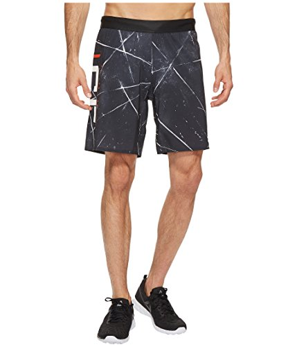 Reebok Men's CROSSFIT Super Nasty Speed Shorts, Black, Large