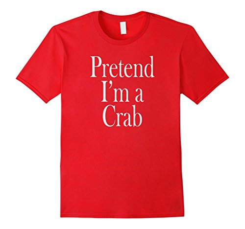 Mens Crab Costume T-Shirt for the Last Minute